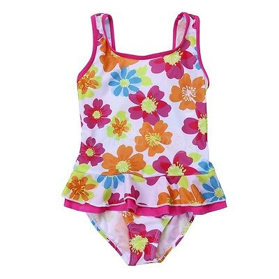 Kids Baby Girls One Piece Bikini Swimwear Swimsuit Swimmers Bathers Clothes 1-6