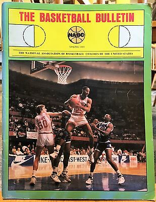 The Basketball Bulletin Spring 1989 (NABC journal:  Coaching articles, history)
