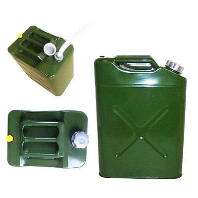 Jerry Can EU Gasoline Oil Fuel Can Gas Storage Steel  Traveling Tank 5 Gal 20L