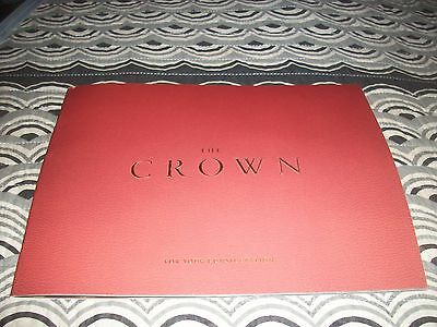 promo Booklet THE CROWN Claire Foy royal family FYC John Lithgow Vanessa Kirby