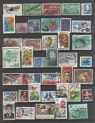 Small Collection of  United States  Stamps 4  All The Stamps Pictured