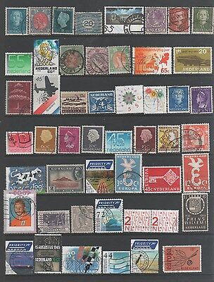 Small Collection of   Netherlands & Colonies Stamps 1 All The Stamps Pictured
