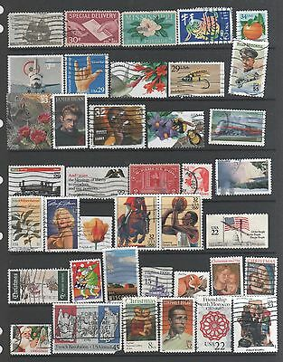 Small Collection of  United States  Stamps 5  All The Stamps Pictured
