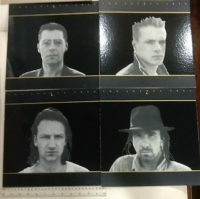U2 The Joshua Tree Hanging Band Picture Mobile Promo - Great Shape & Rare