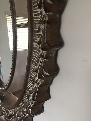 Large Antique Gold Mirror RRP $299