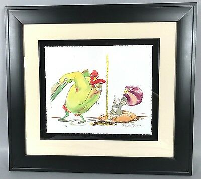 Chuck Jones Watercolor Lithograph - Bugs Bunny Ali Baba WB Looney Tunes LE 59/75