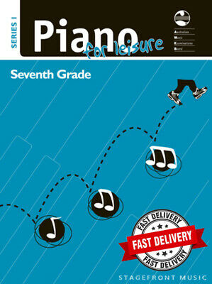 Ameb Piano For Leisure Series 1 - Seventh Grade 7 ***Brand New***
