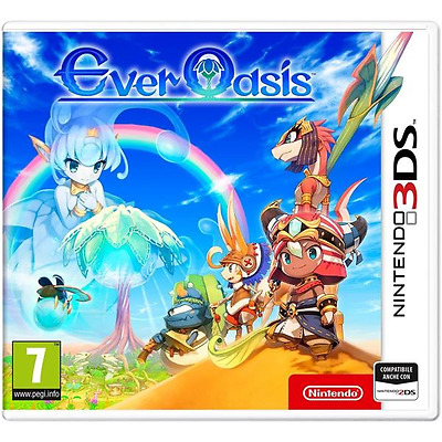 Nintendo 3DS EVER OASIS ITA
