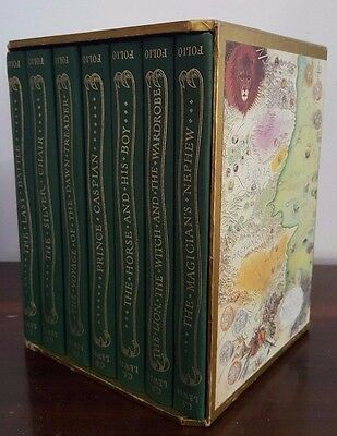 The Chronicles of Narnia by C S Lewis - Seven Volume Hardcover Set in Slipcase -