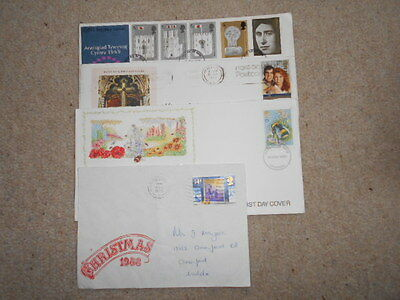 Collection of 12 First Day Covers/Stamps