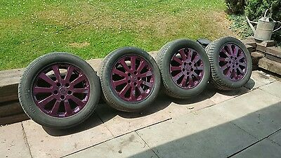 Alloy Wheels And Tyres Peugeot  / Renault
