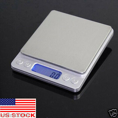1PC Precision Jewelry Electronic Digital Balance Weight Pocket Scale 0.1Gram US