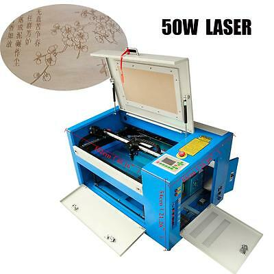 50W CO2 Laser Engraving Engraver Cutting Machine For Woodworking,Textile cutting