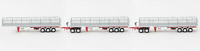New Drake Maxitrans Freighter Triple Road Train Trailers Set Betts Bower 1:50