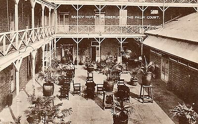 South Africa - Kimberley - Palm Court In The Savoy Hotel