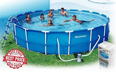 **SALE** BestWay Steel Pro Frame Swimming Pool 12ft x 30in - Easy To Set Up!