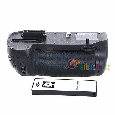 Vertical Multi-Power EN-EL15 Battery Grip Holder + Remote For Nikon D7100 Camera