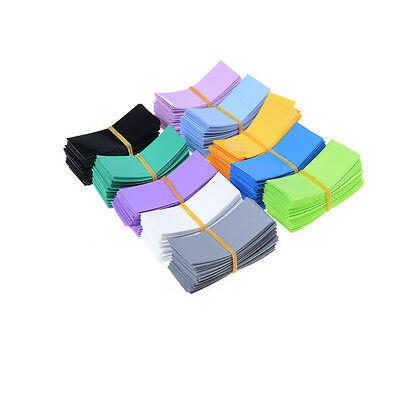 100pcs 18650 Battery Wrap PVC Heat Shrink Tubing Pre-cut Precut Best UK