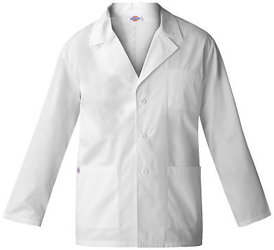 "Dickies EDS 84401 Women's 28"" Lab Coat Medical Uniforms Scrubs"