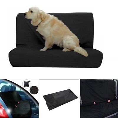 Universal Waterproof Car Seat Cover Rear Front Back Protector Pet Nylon Van Dog