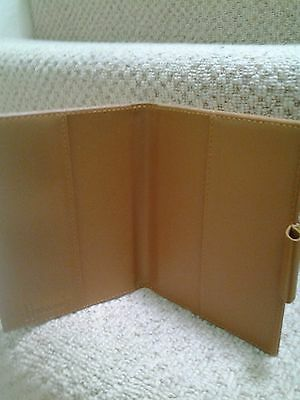 Harrods Tan Journal Sketchbook Note Cover Leather UK - 5X6 ""