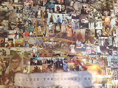 RARE Limited Signed Copy Goldie - The Journey Man Vinyl Mint Unopened