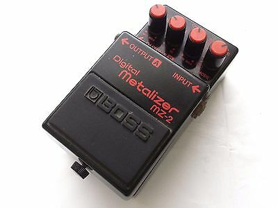 BOSS MZ-2 Digital Metalizer Distortion Pedal Made in Japan Free shipping