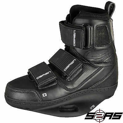 2016 O'Brien GTX Men's Wakeboard Bindings (Black/White)