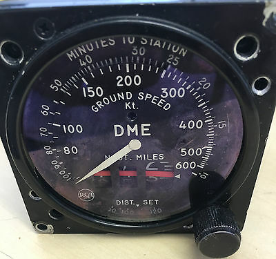 DME RAF Aircraft Cockpit Ground Speed Indicator MI-591085-9