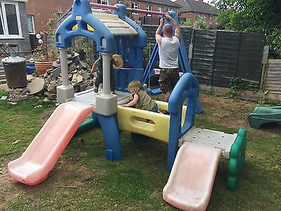 Little Tikes Club House Swing And Climbing Frame With Slides