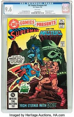 DC Comics Presents #47 Superman and the Master of the Universe (DC, 1982) CGC NM