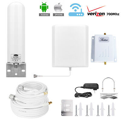 Band 13 Verizon 700MHz Cell Phone Signal Booster 4G LTE Panel Tubular Reapter