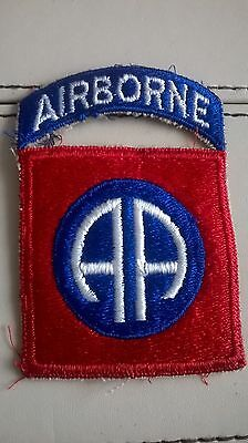 WW2 US Airborne 82nd Sleeve Patch