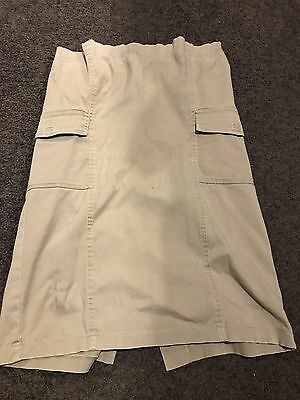 Cargo Maternity Skirt Size 8/small Ripe