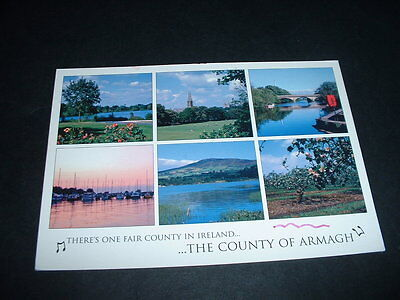 NORTHERN IRELAND  POSTCARD THE COUNTY OF Co ARMAGH