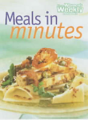 WOMENS WEEKLY ~Meals in Minutes Cookbook~Step by step ~ GR8 RECIPES Quick & Easy