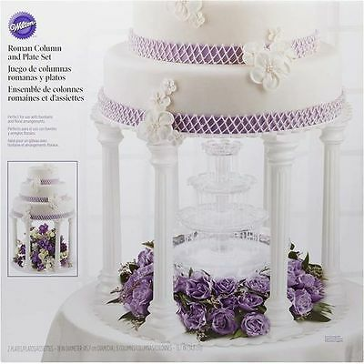 Wilton Roman 6 Column and Plate Tier Set - Reduced to clear