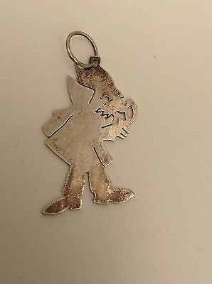 Silver Pendant Inspector Of Gadgets