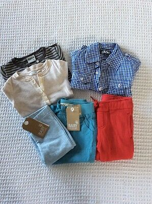 Boys Size 0 NWT Cotton On pants, Ouch Top, ABCD Shirt & More Inc. Country Road