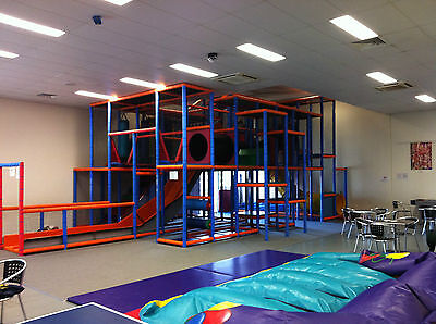 INDOOR PLAYGROUND - Ready to set up your own play centre.