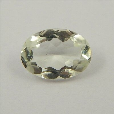 4.7 cts Natural Green Amethyst Gemstone Must See Loose Cut Faceted P#227-29