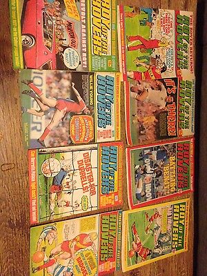 1982 1983 vintage books magazines roy of the rovers bundle
