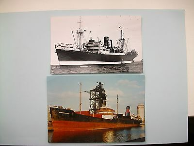 2 OLD PHOTOGRAPHS - 'Robert L.Holt' & 'Hudson River'