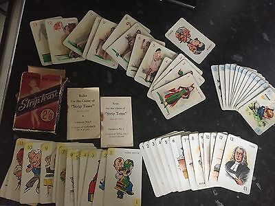 The new card game striptease pack of cards vintage glamour girls pictures