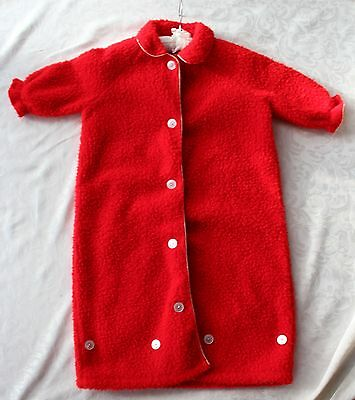 Vintage Sherpa Toddler Dressing Gown - Snappy Creations-Snappy Panties Melbourne