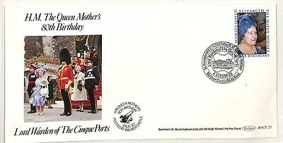 CC7 1980 Queen Mothers Birthday Cover Kent {samwells-covers}