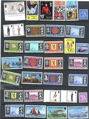 51 Stamps from Guernsey