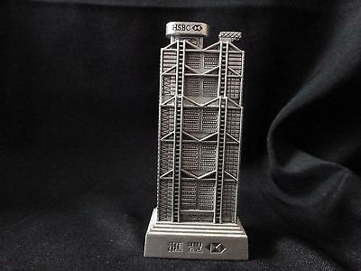 HSBC BANK BUILDING Hong Kong metal souvenir building Norman Foster Architect MIB