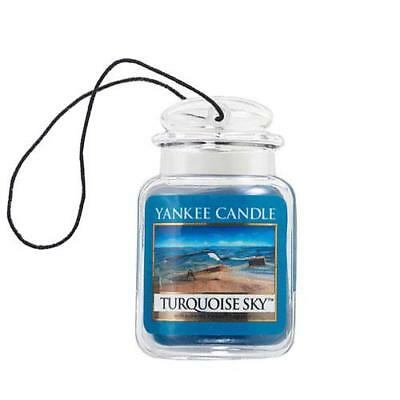Yankee Candle Ultimate Car Jar Air Freshener - Turquoise Sky