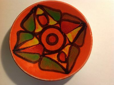"poole pottery 5"" Pin Plate Probably 1970s"